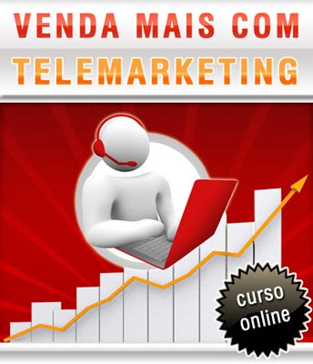 Curso Online Venda Mais com Telemarketing
